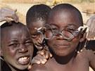 Děti z angolské provincie Kuembo