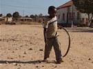 Chlapec z angolské provincie Kuembo