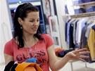 Na nákupech se Simona se stylistkou ne vždy úplně shodla.