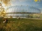 Slavné římské Koloseum bude připomínat Centrum halových sportů v Českých
