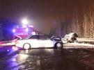 Tragická nehoda dvou polských aut v Karviné