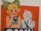 Exponát výstavy Reklama a děti