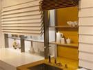 Kuchyně Leicht - Xtend+ používá místo horních dvířek skládací lamely.