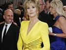 Jane Fonda v šatech Versace