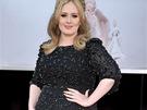 Adele v šatech Jenny Packham