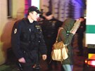 Policejní zátah v nočním podniku Cabaret Atlas v ulici Ve Smečkách v centru