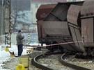 Nehoda zastavila provoz na hlavní trati v úseku Karlovy Vary - Chodov a nejezdí