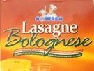 Kontroloři odhalili koňské maso ve výrobku Lasagne Bolognese od firmy Nowaco.
