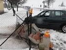 Silně opilý řidič nezvládl v Čelčicích na Prostějovsku odbočování, vyjel mimo
