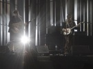 Kapela roku Mumford & Sons na Brit Awards 2013.