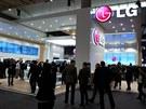 Stánek LG na veletrhu Mobile World Congress v Barcelon�. Oproti stánk�m...