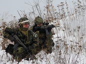 Na Libav� vrchol� p��pravy �esk�ch voj�k� p�ed novou mis� v afgh�nsk�m Vardaku.