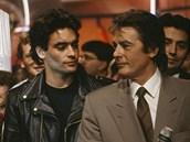 Anthony Delon se svým otcem (2002)