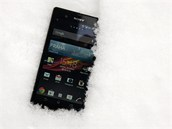 Sony Xperia Z ve sn�hu