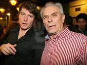 David Švehlík a jeho otec Alois (2009)