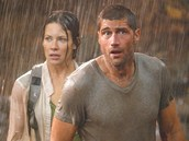 Evangeline Lilly a Matthew Fox v seri�lu Ztraceni (2004)