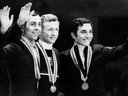 Wolfgang Schwarz na olympiádě v roce 1968. To ještě nepodnikal s bílým masem.