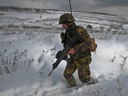 Na Libav� vrchol� p��pravy �esk�ch voj�k� p�ed novou mis� v afgh�nsk�m Vardaku