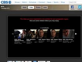 P�ehr�va� CBS bez pou�it� dopl�ku Hola Unblocker