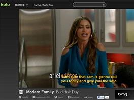 Hulu s pou�it�m dopl�ku Hola Unblocker