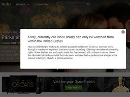 Hulu bez pou�it� dopl�ku Hola Unblocker