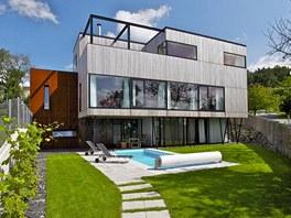 V kategorii individuální domy zvítězil u odborné poroty dům postavený podle