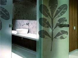 Celoskleněné dveře Grafosklo s průsvitnou dekorovanou vnitřní fólií, cena od 7