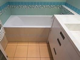 V koupelně byly použity obklady RAKO.
