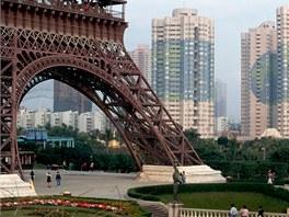 S replikou Paříže se můžete setkat u města Chang-čou, které je správním