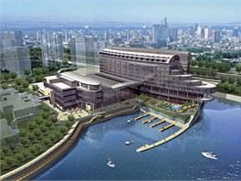 Hotel Crowne Plaza v čínském městě Suzhou