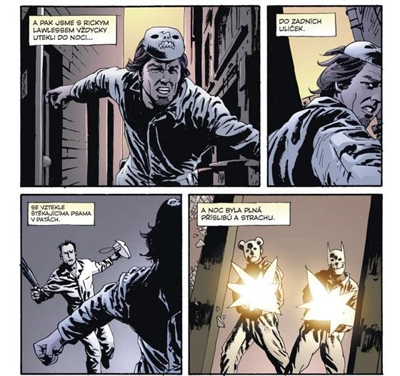 Ukázka z komiksu Criminal