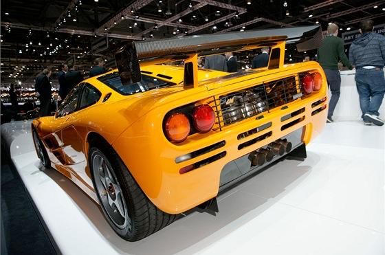 McLaren F1 na ženevském autosalonu
