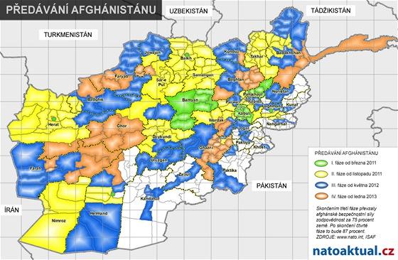 Jak NATO p�ed�v� odpov�dnost v Afgh�nist�nu