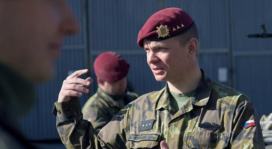 Velitel české jednotky v Mali Marek Štěpánek