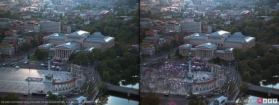 Smrtonosná past 5 podle studia UPP: Budapešť před úpravou a po ní