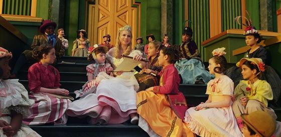 Michelle Williamsová ve filmu Mocný vládce Oz