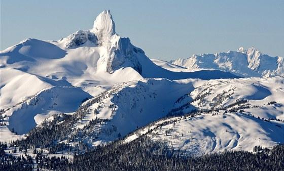 Black Tusk. Vyhasl� sopka a jeden z nejhez��ch �t�t� v oblasti Garibaldi