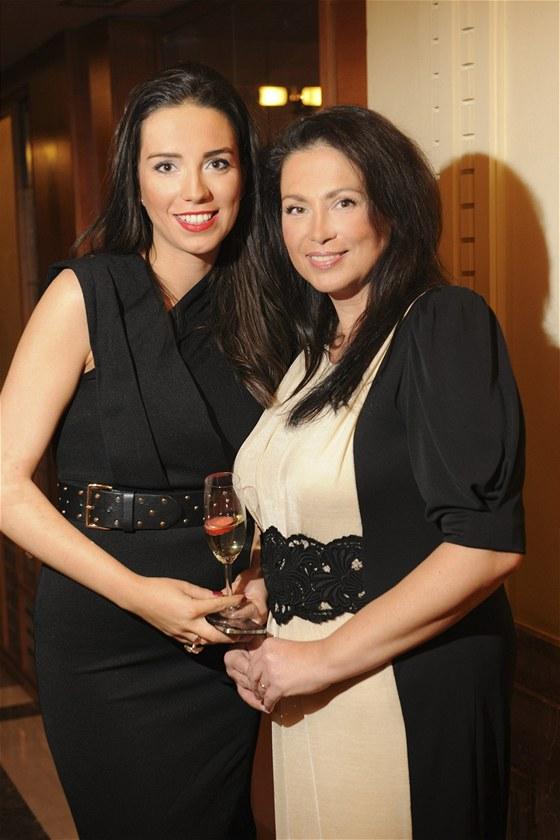 Jana Bobošíková s dcerou Janou