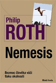 Philip Roth: Nemesis (obal knihy)