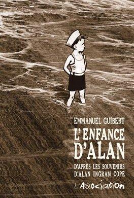 Obálka francouzského vydání Alanova dětství