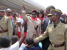 Narozeninová oslava zimbabwského prezidenta Roberta Mugabeho (4. března 2013)