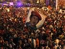 Comandante Chávez odešel, Venezuela se ponořila do smutku (6. března 2013)