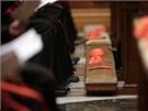 Katolické církvi po odchodu papeže Banedikta XVI. vládne tzv. generální
