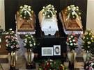 Beze slov. Frenštátští se loučili s trojicí žen, které zemřely při výbuchu.