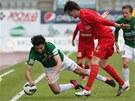 Momentka z utk�n� 18. kola fotbalov� ligy mezi Jabloncem a Brnem (2:0).