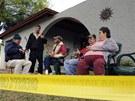 Katastrofa vzbudila i zájem sousedů, okolní domy museli evakuovat.