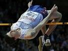 SKOČIL. Jaroslav Bába vybojoval na halovém mistrovství Evropy bronzovou medaili.