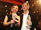 Český lev za rok 2012 - Ivan Trojan a Gabriela Míčová