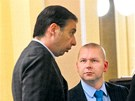 Člen pražské ODS Ondřej Palounek (vlevo)