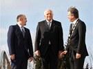 Předávání prezidentských medailí ve vile Tugendhat se zůčastnili i jihomoravský